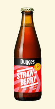 Dugges Strawberry 4,8% 0,33l