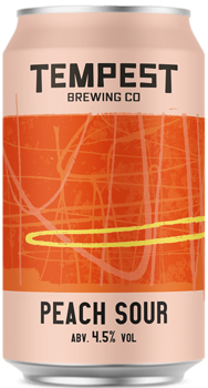 Tempest Peach & Vanilla Sour 4,5% 0,33l (can)