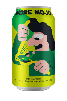 BBP Mikkeller More Mojo 4,3% 0,33l (can)